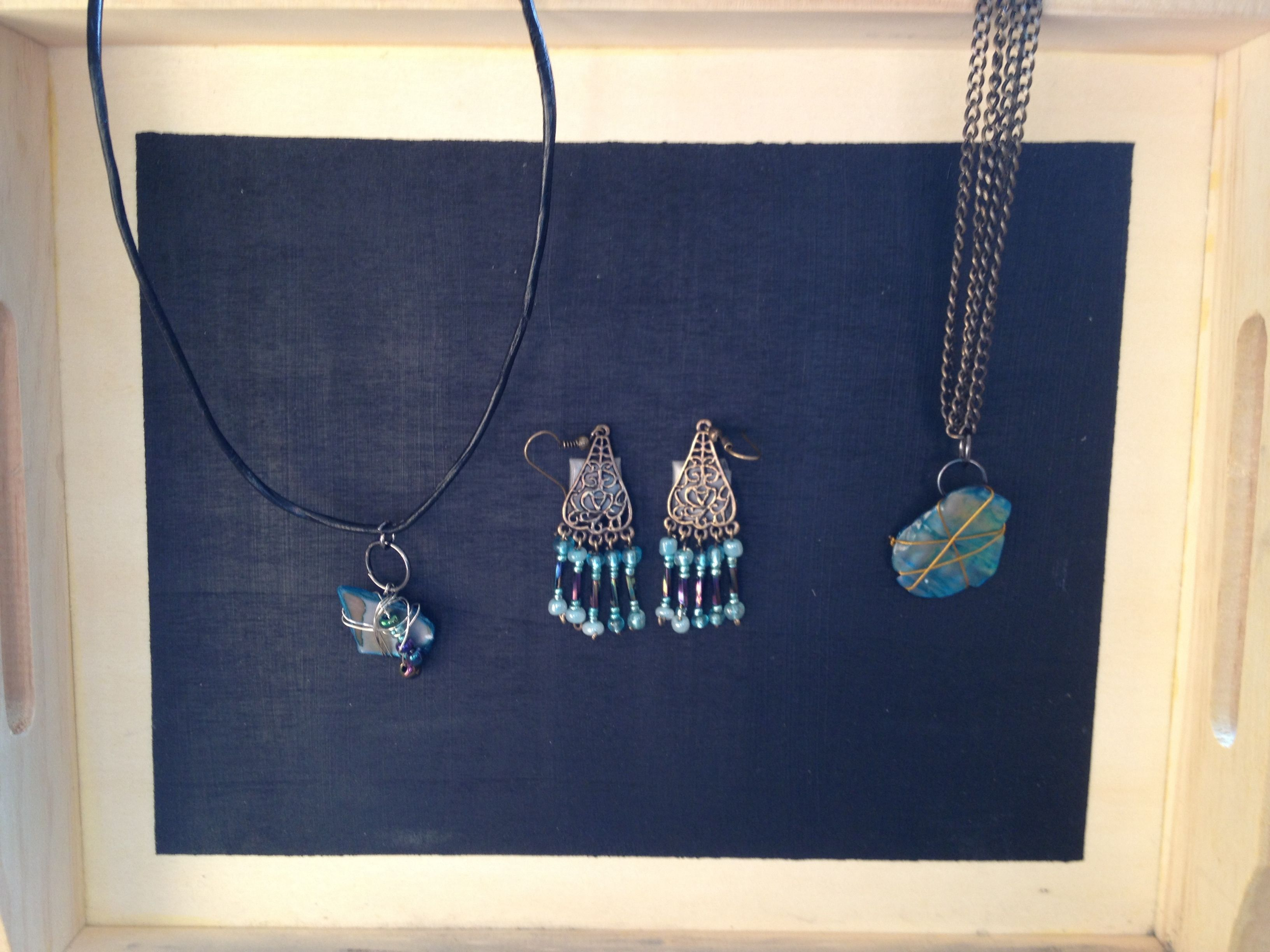 Easy to make homemade jewelry. Made with love in one day