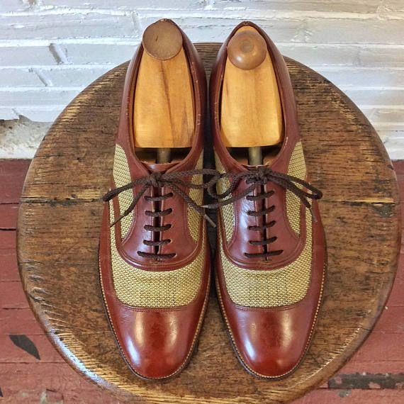 Wingtip shoes, Vintage men