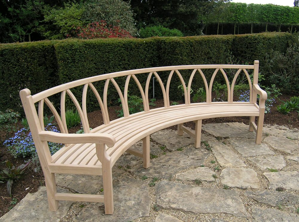Refreshing Curved Bench Seating On Furniture With Outdoor Curved Bench Seating For Pinterest Gebogene Bank Gartensitzplatz Aussenbanke