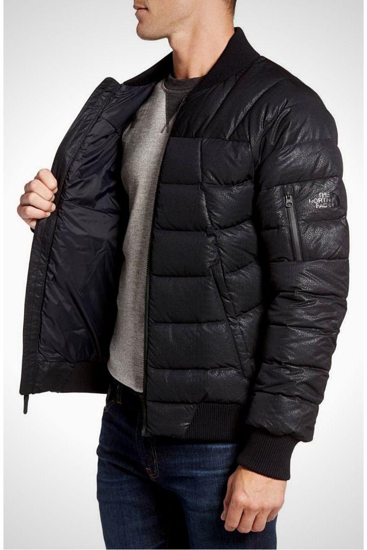 The North Face Kanatak Bomber Men S Down Jacket Urban Navy Mens Outdoor Jackets Mens Down Jacket Jackets [ 1125 x 750 Pixel ]