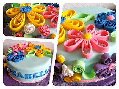 Birthday cake for a 9 year old girl WeddingBirthdayAll Occasion