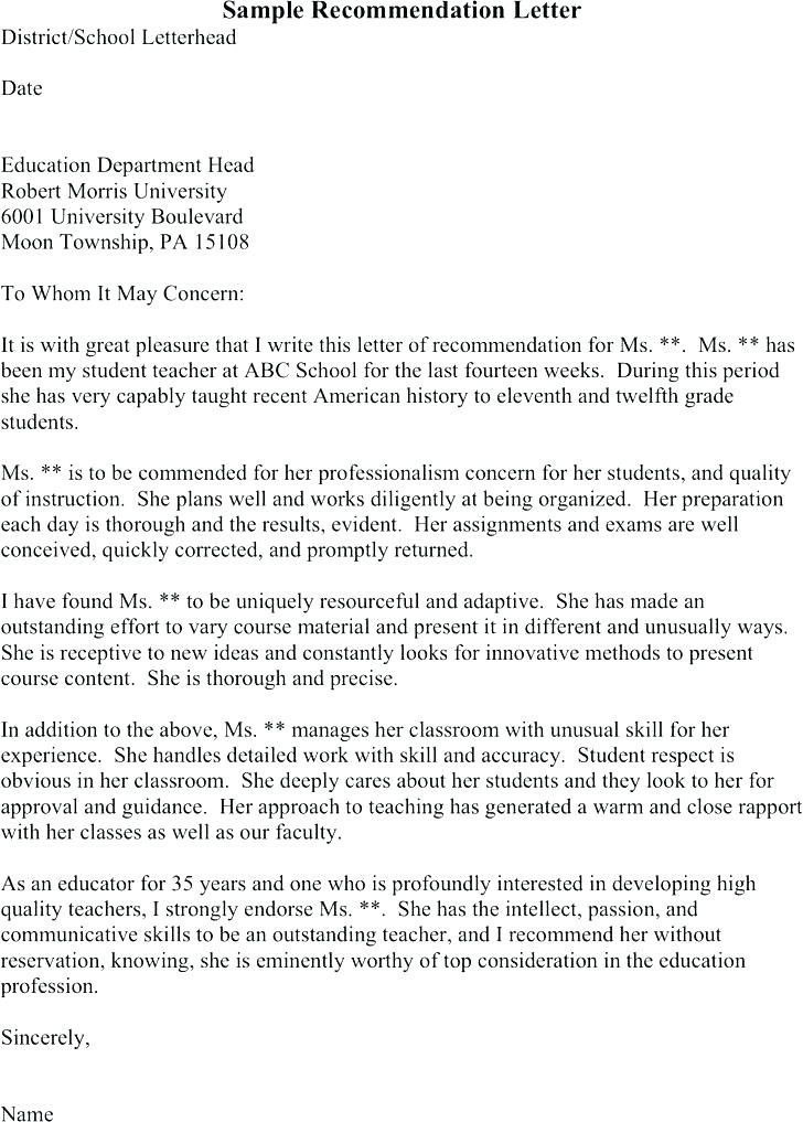 15+ graduate school reference letter from employer