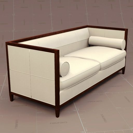 archetype furniture. archetype wood banded sofa by baker httpwwwbakerfurniturecom furniture 6