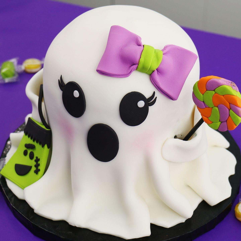 The Icing Artist Ghost Cake Ghost Cake Cake Videos Vanilla
