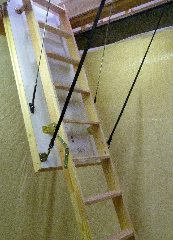 Best Loft Centre Kensington Timber Folding Loft Ladder With 400 x 300