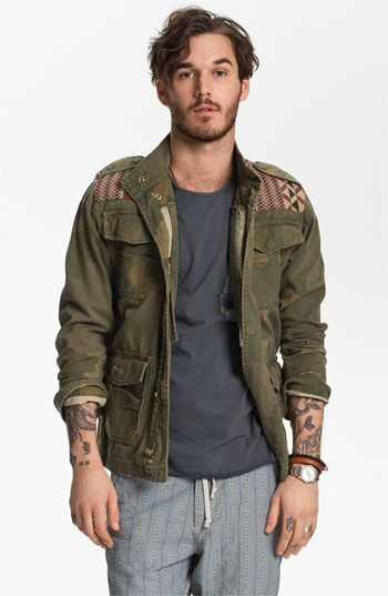 This jacket is SICK!!! LOVE IT! Scotch & Soda Camo Print Field Jacket available at Nordstrom