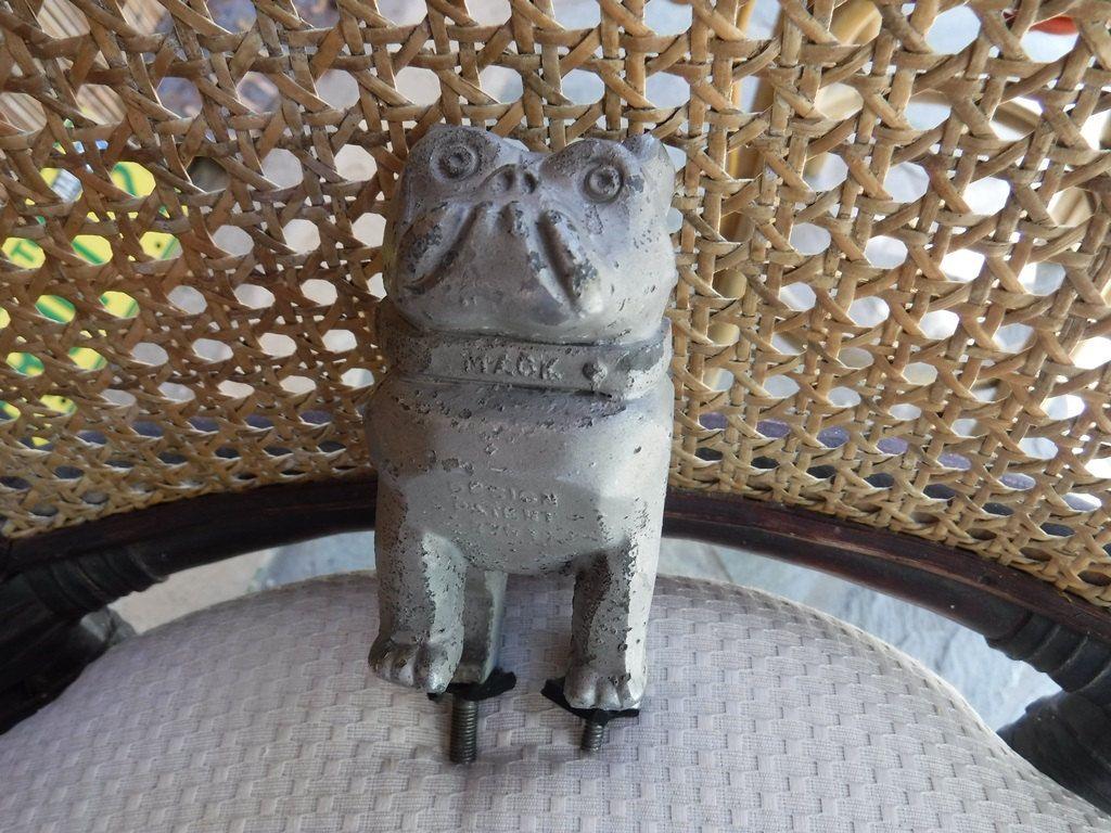Bulldog Mack Truck hood ornament 1930's40s Pat 87931 by