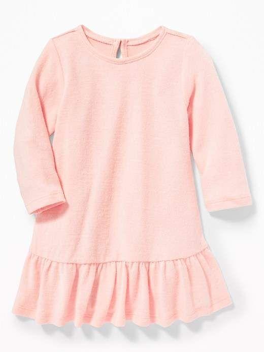 8cc936dd355 Plush-Knit Peplum-Hem Swing Dress for Baby in 2018
