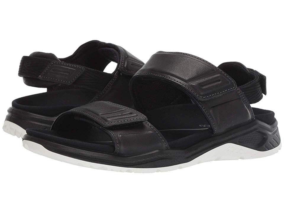 ECCO Sport X Trinsic Leather Sandal Women's Sandals Black