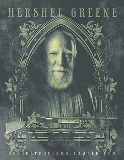 Hershel Greene portrait