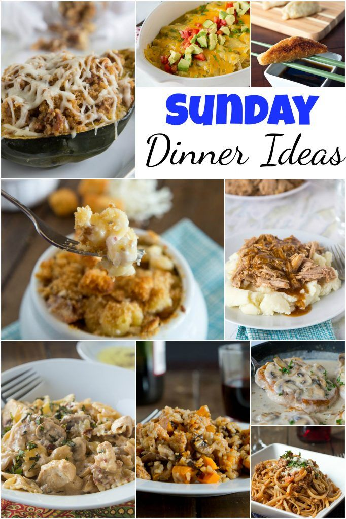 10 Simple Household Dinners for Sunday Nights images