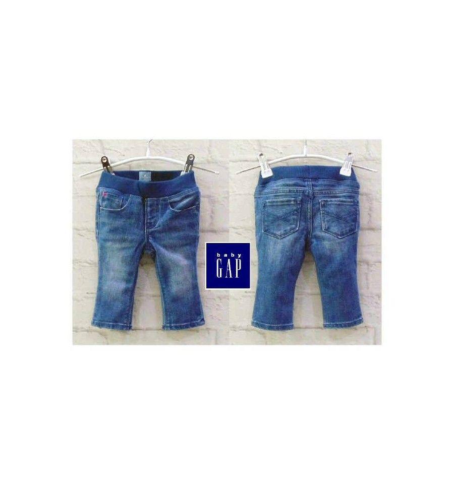 Jual Celana Anak Baby Gap Rubber Waist Jeans Baby Gap Celana Baju Bayi
