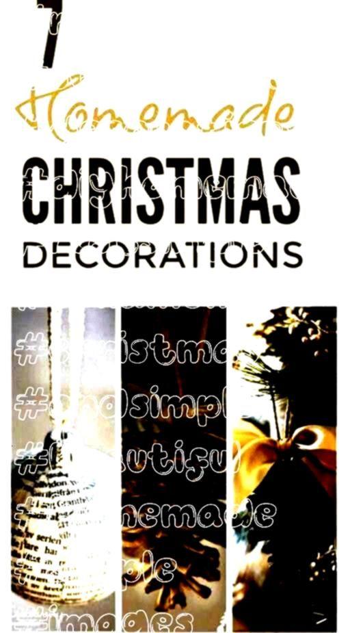 DIY Christmas decorations  beautiful Scan Simple Homemade Christmas Ornaments  DIY Christmas decorations  beautiful Scandinavian and rustSimple Homemade Christmas Ornamen...