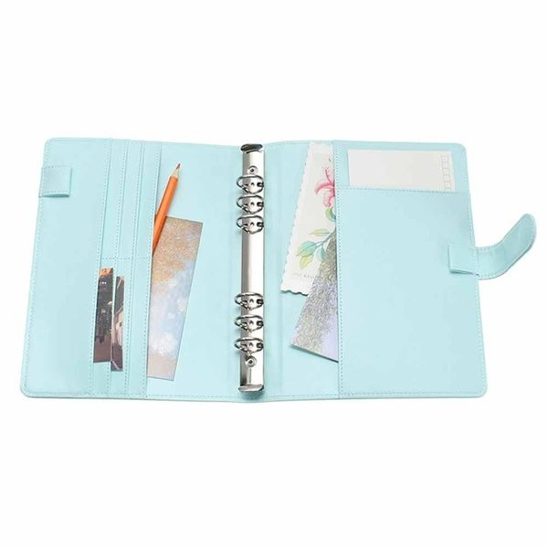 New Vintage Refillable Notebook File Folder Notepad Cover