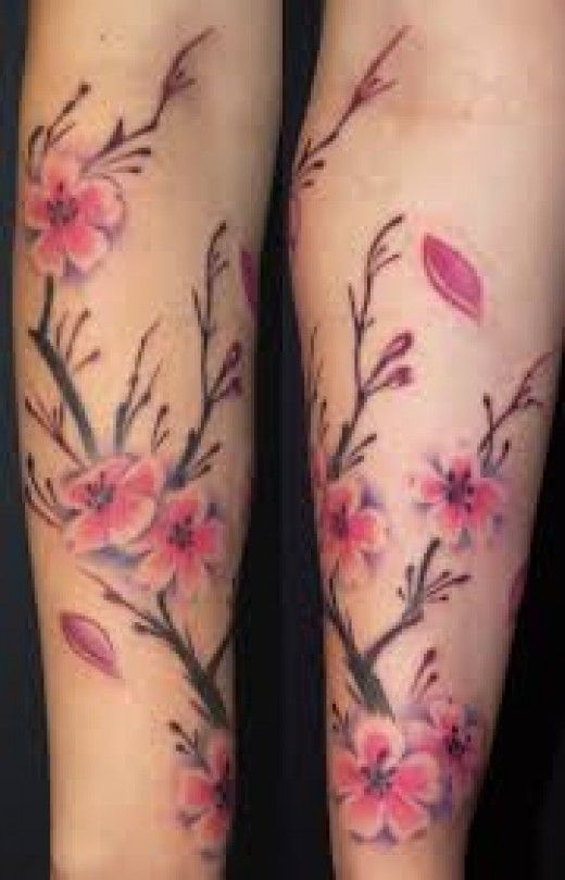 Cherry Blossom Tree Tattoo Designs And Meanings Cherry Blossom Tree
