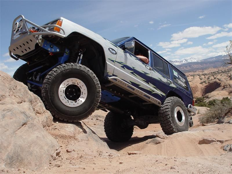 Jeep Cherokee Xj Tnt Rock Tek 5 5 Y Link Suspension Solution