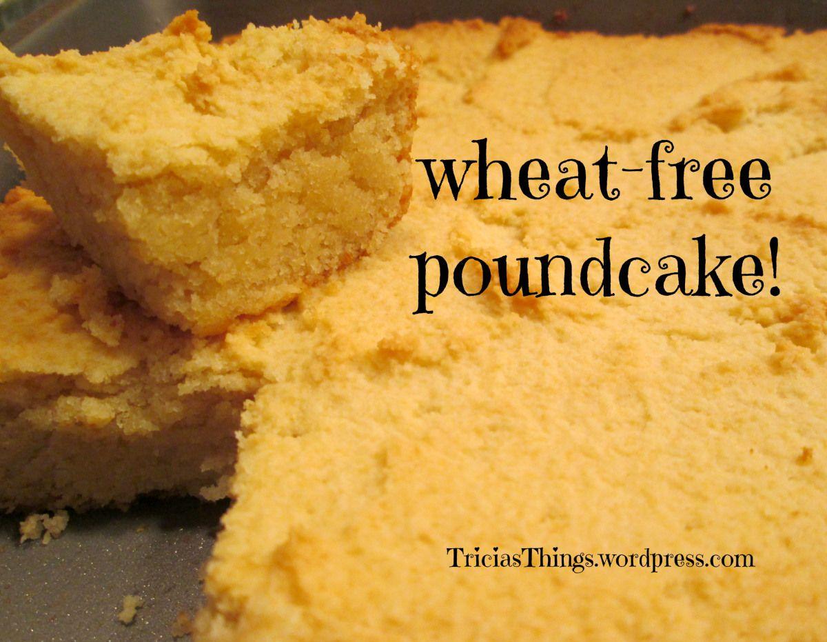 Almond flour pound cake wheat free recipes gluten free