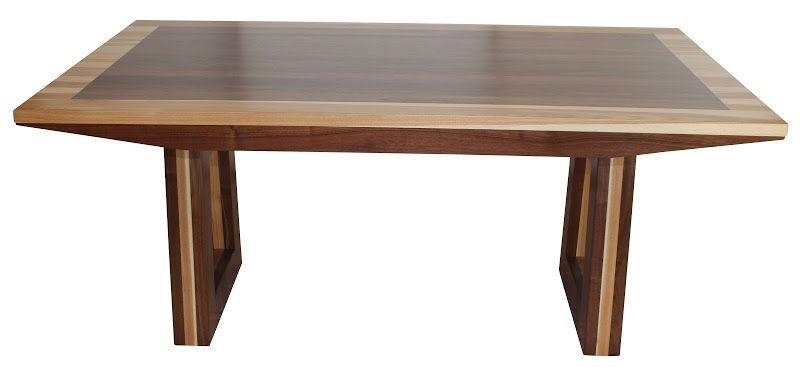 U X U X U Delton Dining Table In Mixed Wood - 30 x 42 dining table