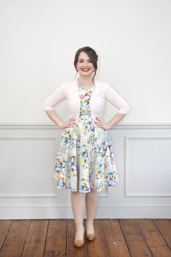 Sew Over It Betty Dress - LJ\'s version | haine en 2018 | Pinterest ...