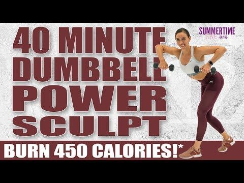 40 Minute Dumbbell Power Sculpt Workout