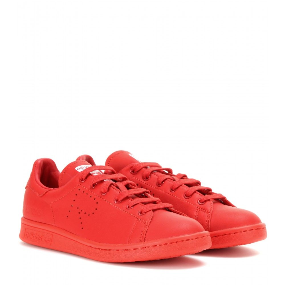 Pharrell Williams and Raf Simons take on Adidas Stan Smith leather sneakers  - LaiaMagazine