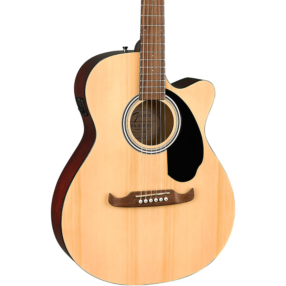 Fender Fa 135ce Concert Acoustic Electric Guitar In 2020 Acoustic Electric Acoustic Electric Guitar Guitar
