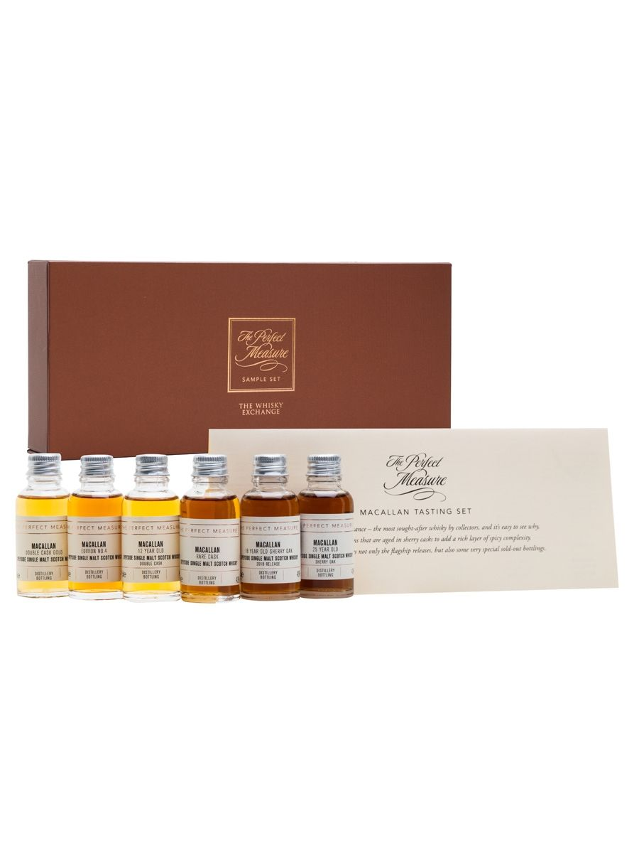 Macallan gift set 6x3cl whiskey with images whisky