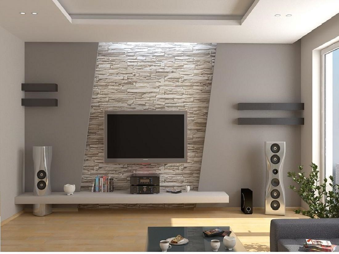 7 How To Decorate Diy Wall Tv Ideas That Suitable Applied In Your Home Diytvwallideas Diyw Modern Tv Wall Units Living Room Tv Wall Tv Wall Decor