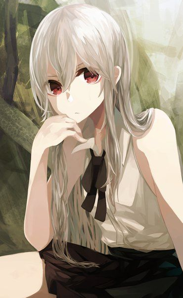 anime picture 2032x3289 with original ogami ren long hair