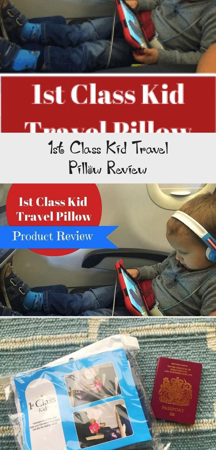 1st Class Kid Travel Pillow Review in 2020 Kids travel