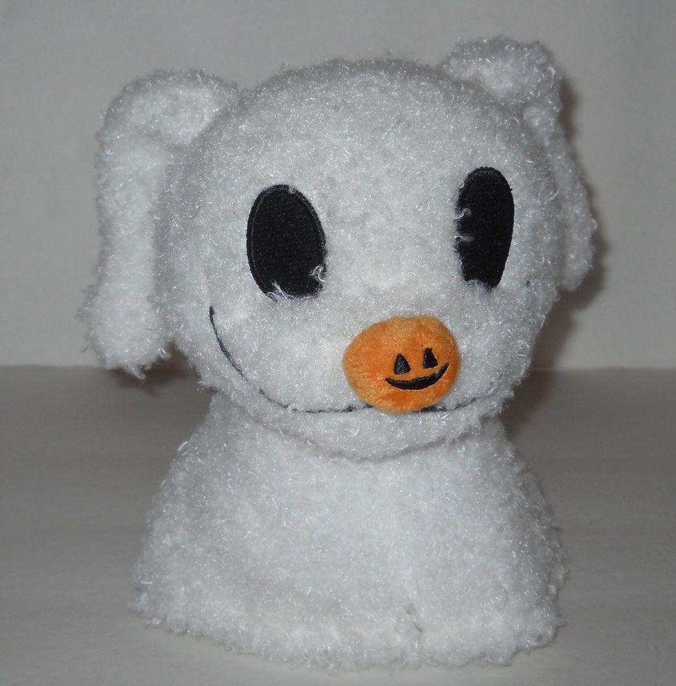 Disney Parks Baby Jack Skellington Zero Dog 7\