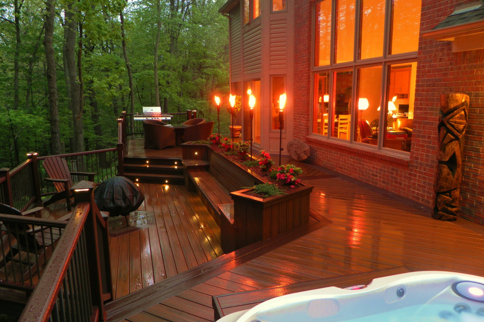 Feature light fancy outdoor deck lighting ideasoutdoor deck feature light fancy outdoor deck lighting ideasoutdoor deck aloadofball Gallery