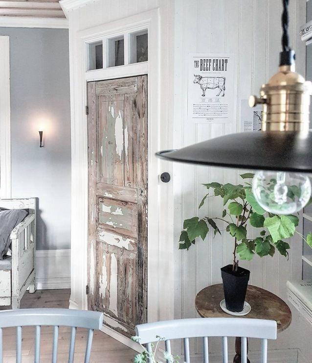 Wooden door in a rustic dining room – Lovingit.pl- Wooden …