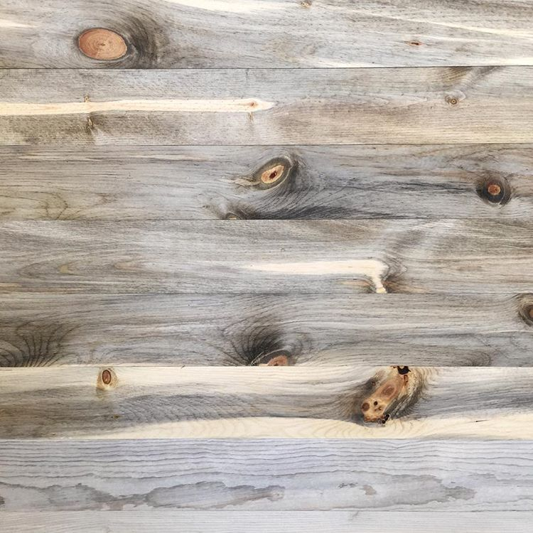 Blue stain pine from home depot the top is stained with