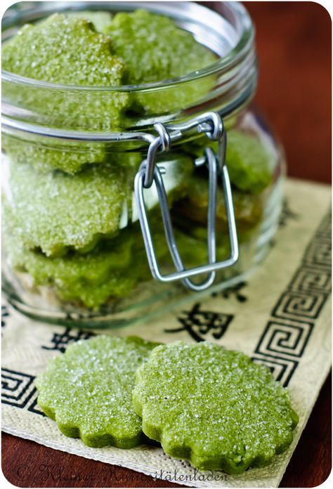 Photo of Green tea biscuits