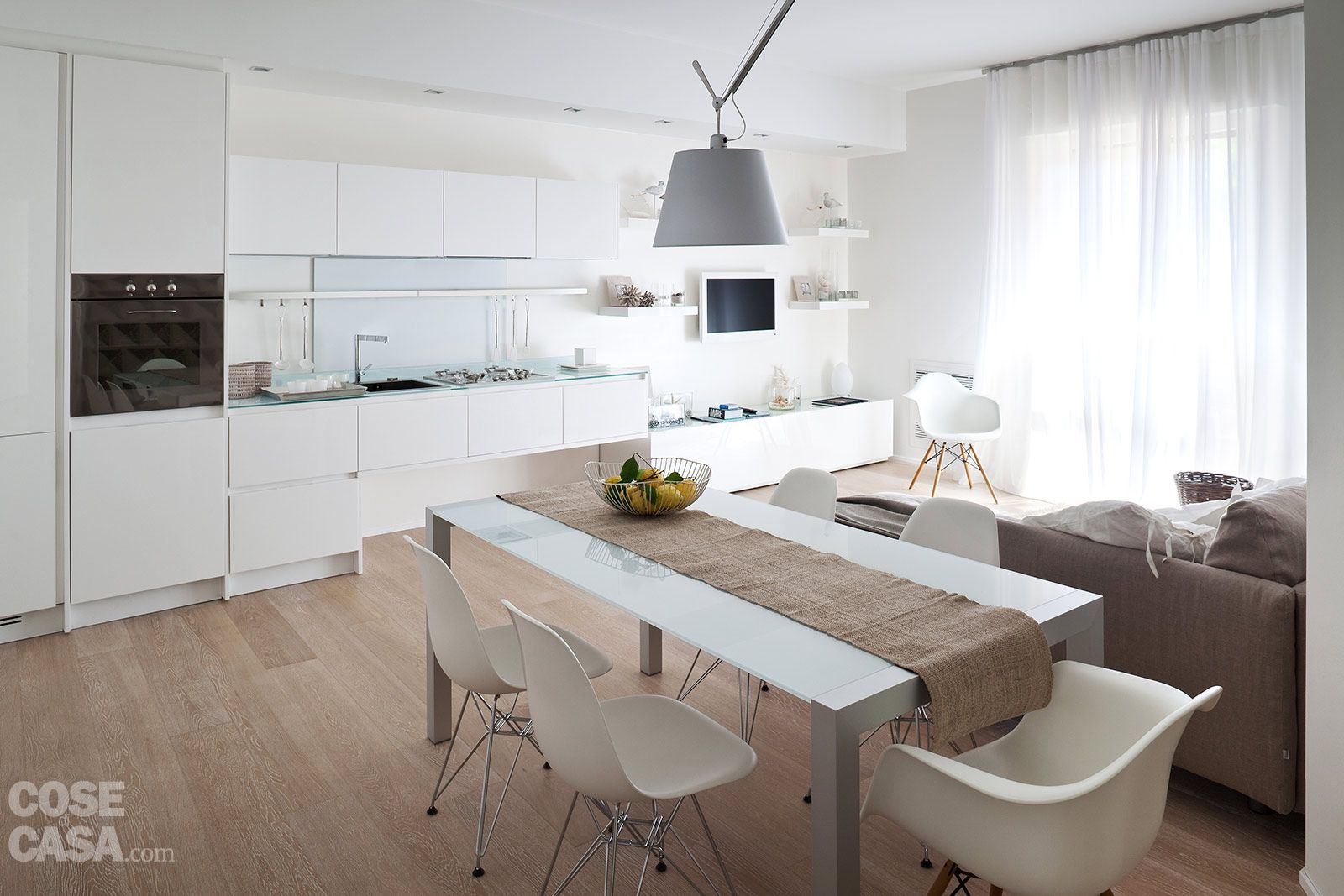 75 mq: 10 idee per far sembrare più grande la casa | Colori ...