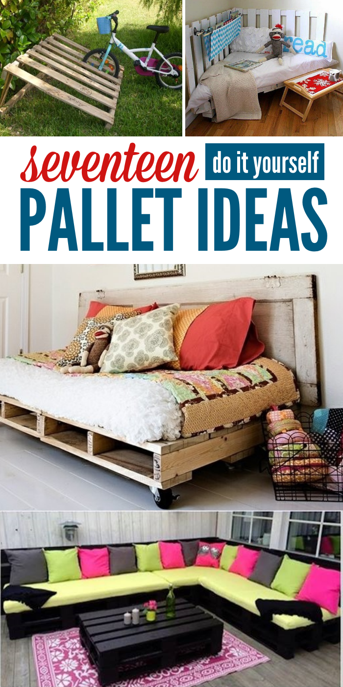 Got Pallets? These 17 DIY Pallet Ideas are Clever!   Ideen