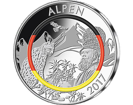 Silber Gedenkprägungen Deutschlands Klimazonen Mdm Germany