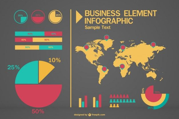 Business infographic free vector infographic pinterest business infographic free vector gumiabroncs Choice Image