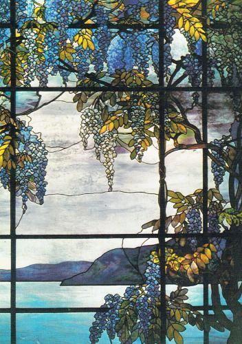 Jugendstil  Glasmalerei