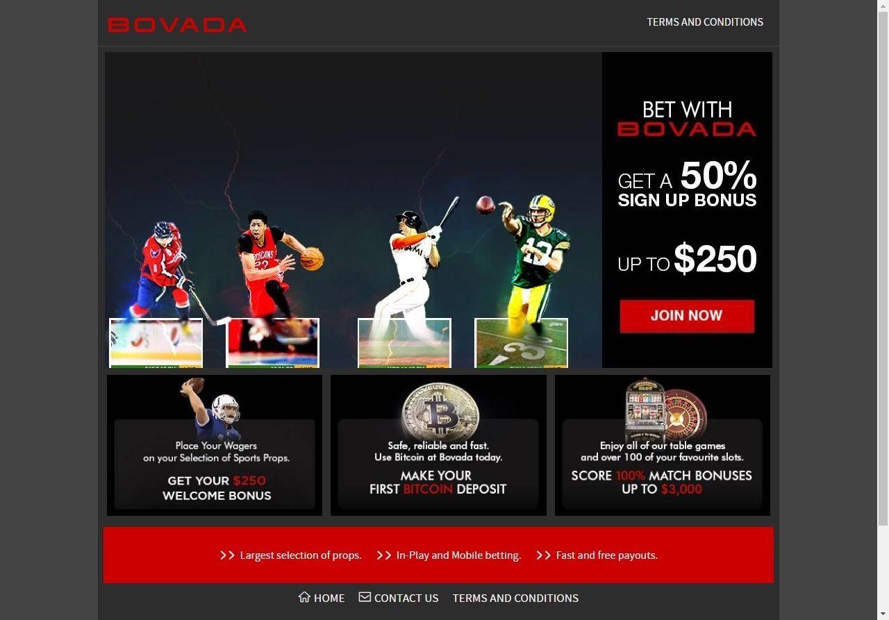 Bovada online gambling cover casino