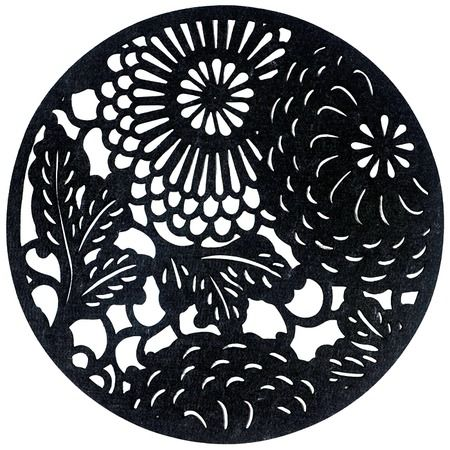 I pinned this Round Placemat in Black - Set of 4 from the A Place at ...
