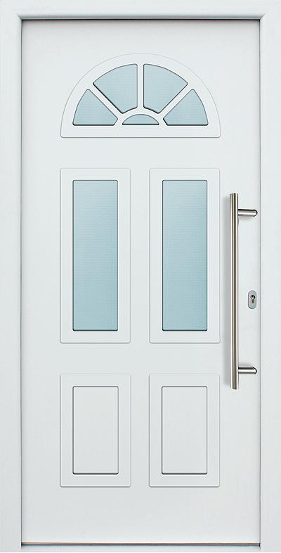 Haustur Vielleicht In Blau Braun Oder Dunkelgrun Hausturen Landhausstil Haustur Ideen Eingangstor Design