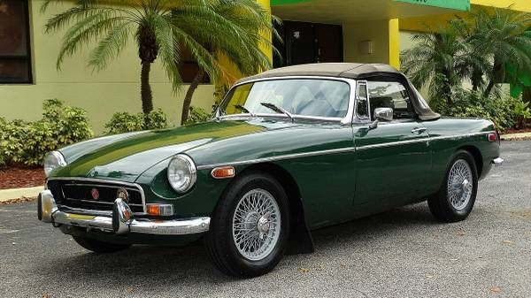 1972 MGB - Right Hand Drive, $9,750 Fort Lauderdale, FL