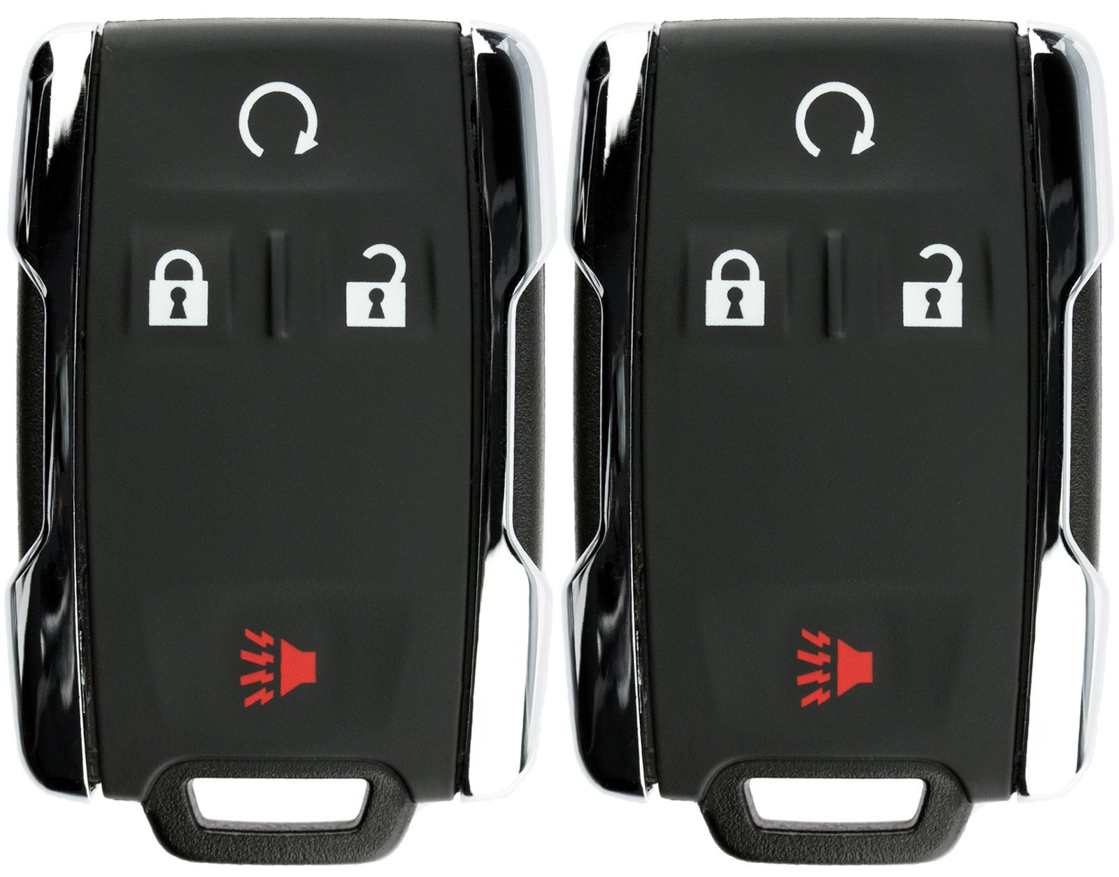 Keylessoption Keyless Entry Remote Control Car Key Fob Replacement For Chevy Gmc M3n 32337100 Pack Of 2 Remote Control Cars Key Fob Replacement Car Key Fob