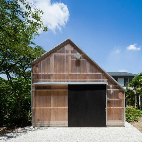 Image Result For Dezeen Asymmetrical Pitched Roof Architecture Timber Architecture Architect