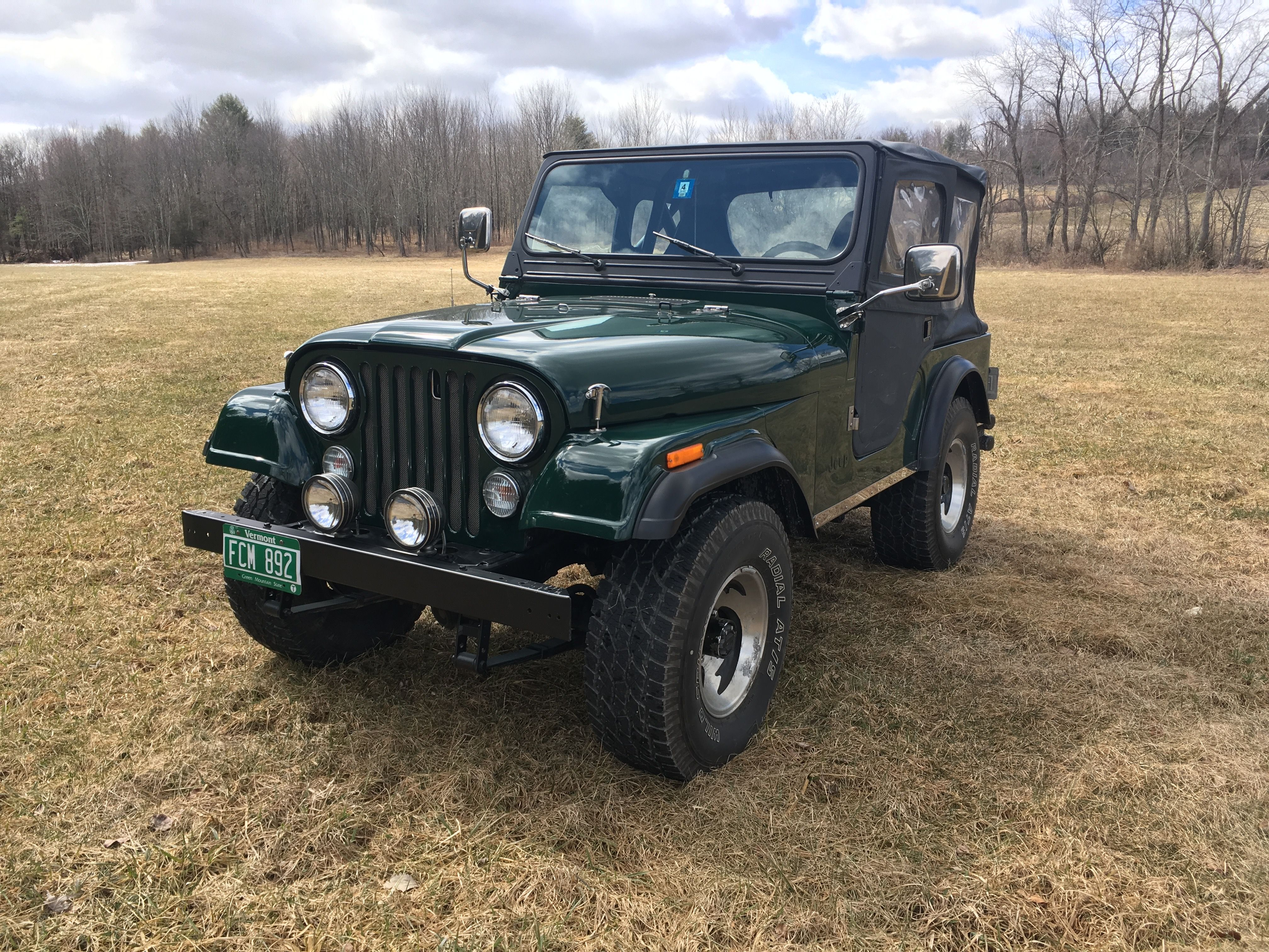 With Soft Top On Jeep Cj5 Old Jeep Jeep