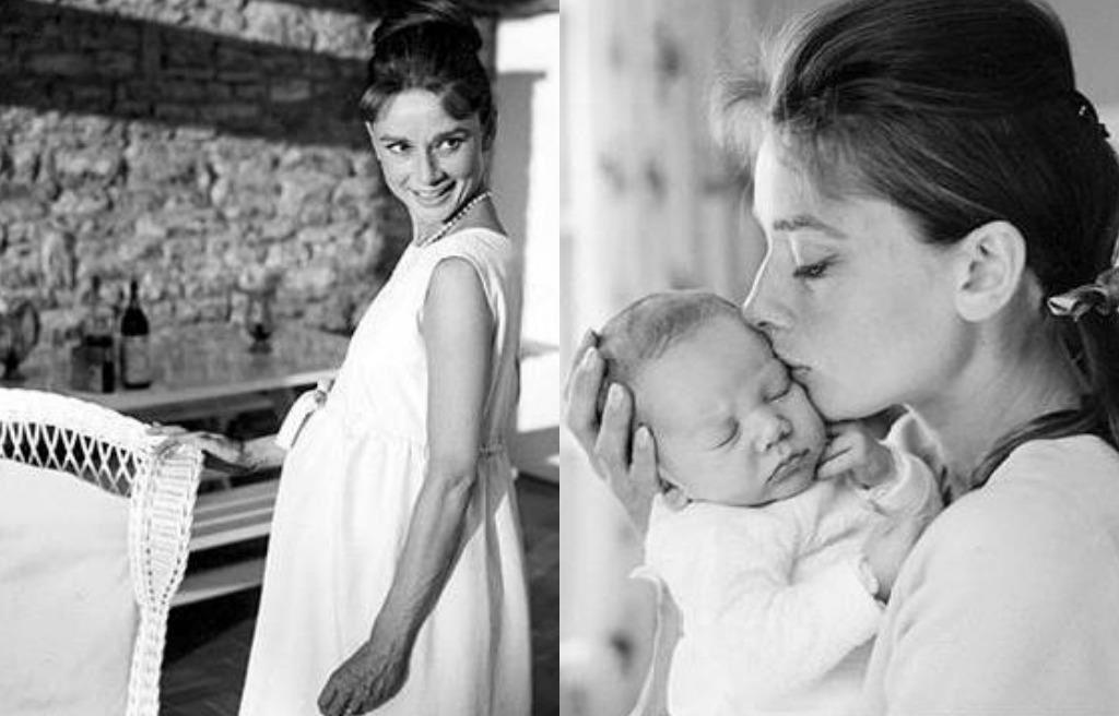 Audrey Hepburn & baby | Loves | Audrey hepburn children ...
