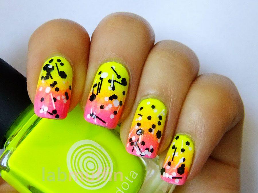Image result for abstract poppies nail art | New years nail art, Nail art inspiration, Pretty