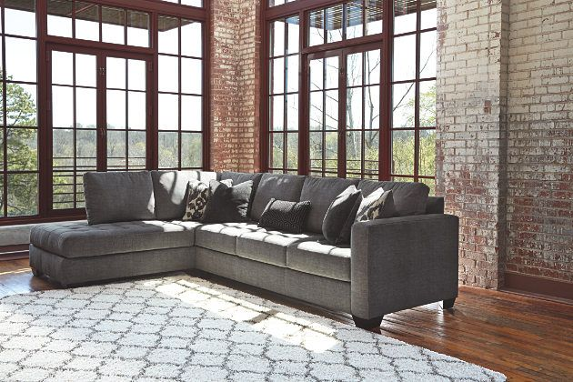 Charcoal Owensbe 2 Piece Sectional https   www ashleyfurniturehomestore com. Charcoal Owensbe 2 Piece Sectional https   www